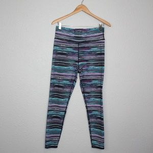 Threads 4 Thought Striped Skinny Leggings sz Large